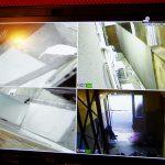 写真:アゲハアパートメント大宮のセキュリティカメラ映像